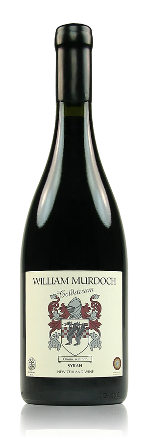 William Murdoch Coldstream Syrah Hawke's Bay New Zealand