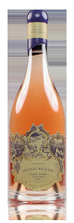 Terra Sancta Special Release First Vines Pinot Noir Rose Central Otago New Zealand