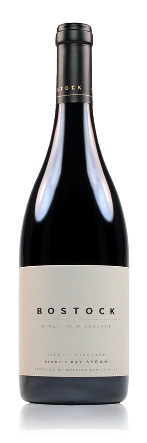 Bostock Wines Vicki's Vineyard Syrah Hawke's Bay New Zealand
