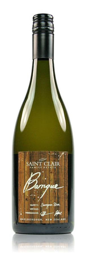 Saint Clair Barrique Sauvignon Blanc Marlborough New Zealand