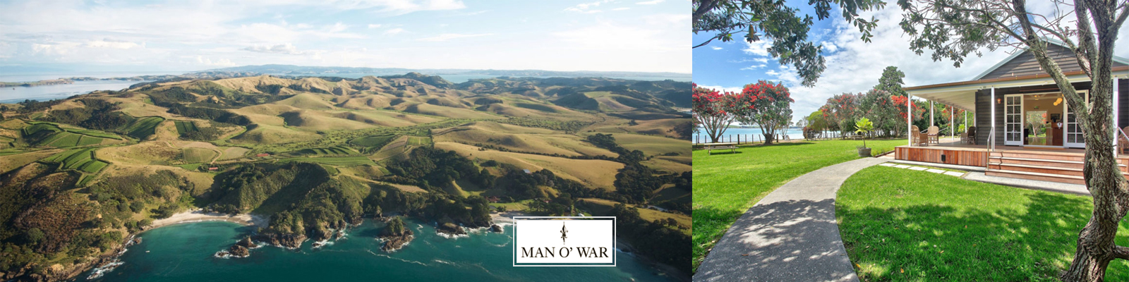 Man O'War Vineyards, Waiheke Island, New Zealand
