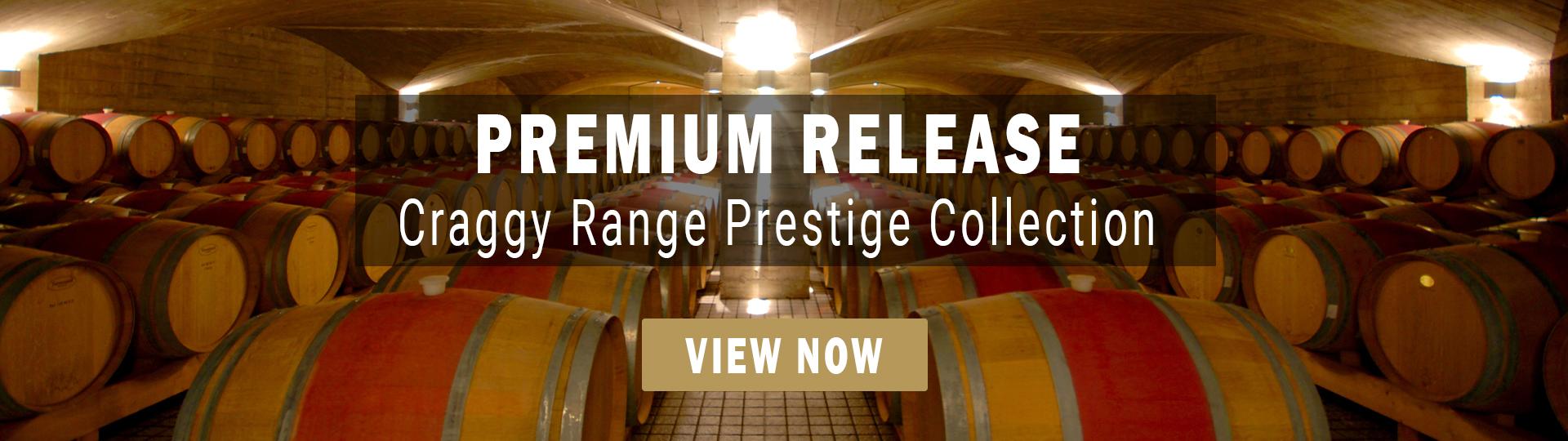 Craggy Range Prestige Collection Wines