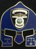 WILDWOOD POLICE FL WARRIOR  BLUE FACE COIN