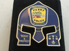 PERRY POLICE FL WARRIOR  BLUE FACE COIN