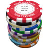 CLAY COUNTY SHERIFF POKER CHIP COIN (INCREMENTS OF 25 PCS ONLY)