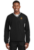 Miami Sheriff Sport-Tek® Tipped V-Neck Raglan Wind Shirt