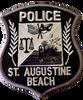 ST AUGUSTINE BEACH POLICE FL DARK GRAY PATCH