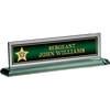 Highlands Sheriff GLASS NAME PLATE