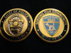4 PACK OF GEORGIA POLICE CHALLENGE COINS RARE PACK #1
