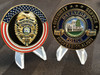 DAVENPORT FL POLICE CHALLENGE COIN RARE