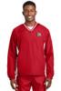 Sport-Tek® Tipped V-Neck Raglan Wind Shirt (FLF)