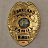 LAKELAND POLICE FAMILY PAPERWEIGHT