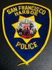 SAN FRANCISCO CA HARBOR POLICE PATCH