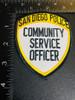 SAN DIEGO CA POLICE SERVICE PATCH