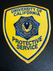 FRESNO CITY CA CAMPUS POLICE PATCH 2