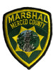 MERCED CTY MARSHAL CA PATCH