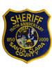 SANTA CLARA SHERIFF CA 150 ANNIV. PATCH