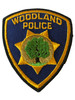 WOODLAND  POLICE CA PATCH