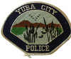 YUBA CITY  POLICE CA PATCH