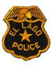 EL LAGO TX POLICE PATCH