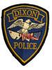 DIXON  POLICE CA PATCH
