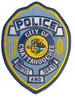 CHATTAHOOCHEE POLICE PATCH FREE SHIPPING!