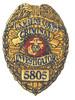 US MARINE CORPS CRIMINAL INVESTIGATOR 5805 MOS PATCH SMALL