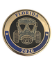 CHIPLEY POLICE FL  2020 MASK COIN