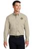 Clay Sheriff Port Authority® Long Sleeve Twill Shirt