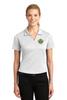 Clay Sheriff Sport-Tek® Ladies Dri-Mesh® V-Neck Polo