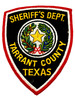 TARRENT  COUNTY SHERIFF TX PATCH