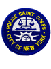 CITY OF NEW YORK POLICE CADET CORPS NY PATCH