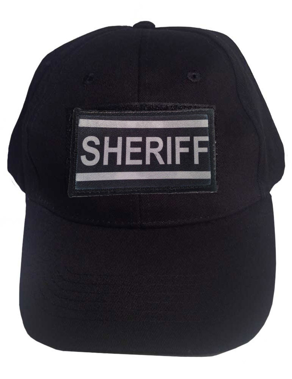 3749a45db Tactical Cap with Velcro Includes Sheriff Patch