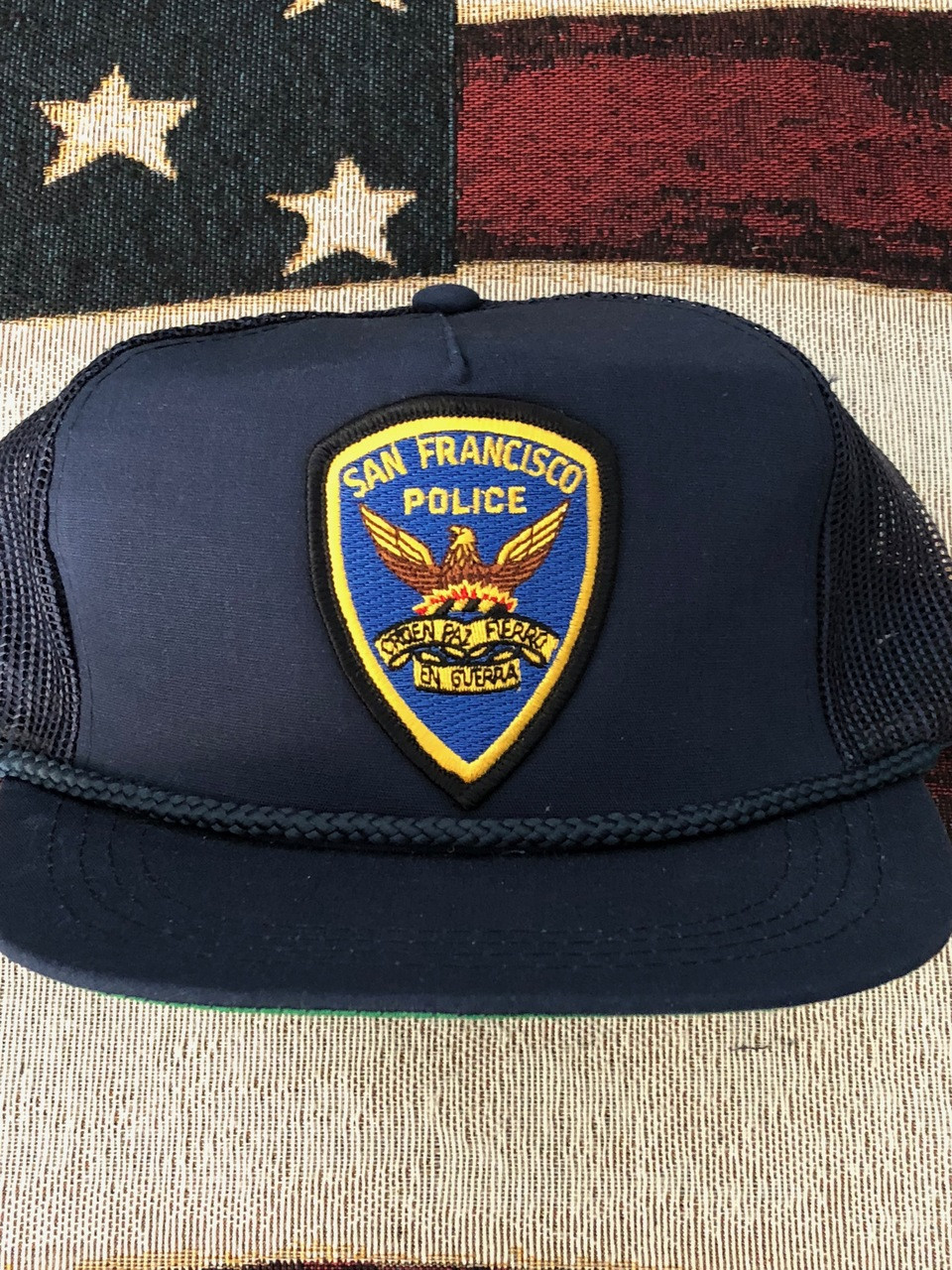 police patch holder