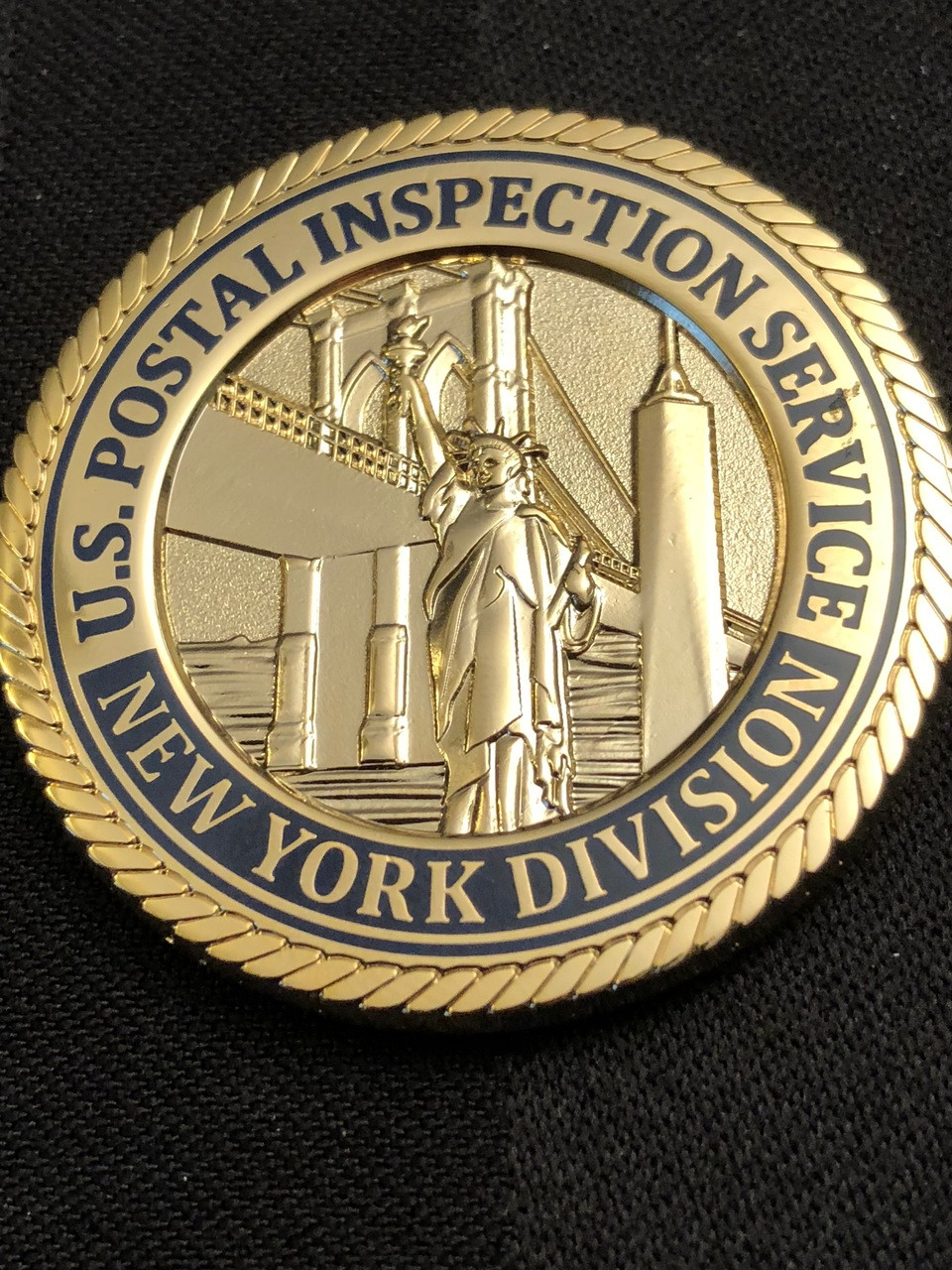 U S  POSTAL INSPECTION SERVICE NY DIVISION LIBERTY COIN