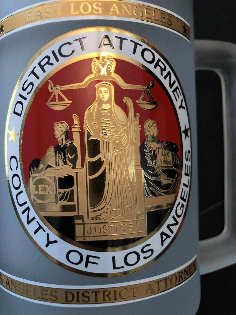 DISTRICT ATTORNEY OF LOS ANGELES STEIN LAST ONE
