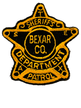 TEXAS SHERIFF PATCHES