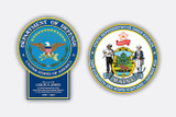 FEDERAL & STATE SEAL PLAQUES