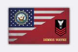MILITARY FLAG PLAQUES