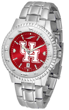 Men's Houston Cougars - Competitor Steel AnoChrome Watch