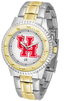 Men's Houston Cougars - Competitor Two - Tone Watch