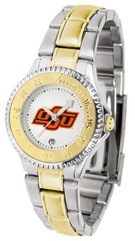 Ladies' Oklahoma State Cowboys - Competitor Two - Tone Watch