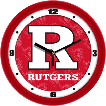 Rutgers Scarlet Knights - Dimension Team Wall Clock