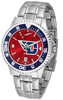 Men's Dayton Flyers - Competitor Steel AnoChrome - Color Bezel Watch