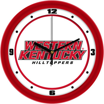 Western Kentucky Hilltoppers - Traditional Team Wall Clock