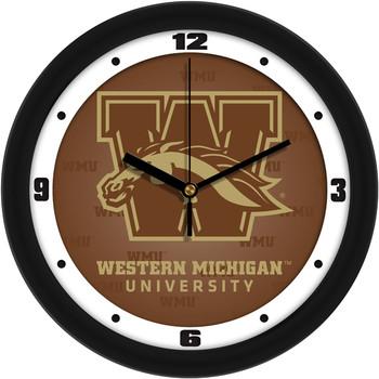 Western Michigan Broncos - Dimension Team Wall Clock