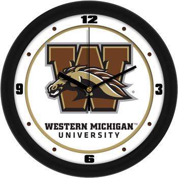Western Michigan Broncos - Traditional Team Wall Clock