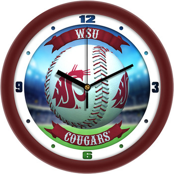 Washington State Cougars - Home Run Team Wall Clock