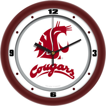 Washington State Cougars - Traditional Team Wall Clock