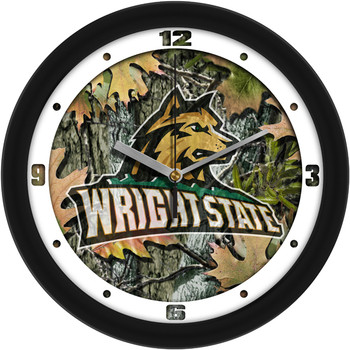Wright State Raiders - Camo Team Wall Clock